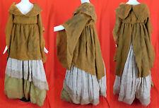 Vintage Warner Bros 1966 Camelot Movie Costume John Truscott Knit Peasant Dress