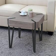 Table basse de salon Kos T574, FSC 52x50x50cm ~ chêne foncé