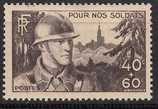 FRANCE TIMBRE NEUF  N° 451 **  SOLDAT FANTASSIN ET STRASBOURG