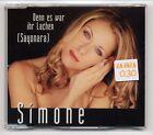Simone Maxi-CD Denn Es War Ihr Lachen - 3-track incl. 5:26 min MAXI Version
