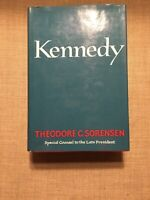 KENNEDY by THEODORE C. SORENSEN 1965 1ST EDITION HARDCOVER W/ JACKET