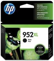 HP 952XL Black, High Yield Single Ink Cartridges Retail Box EXP 2020