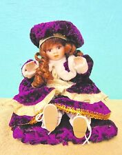 Doll Porcelain musical animated collectable display decoration colorful gift