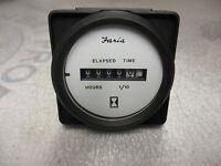 White 2 Faria 12913 Euro Hourmeter Digital Gauge