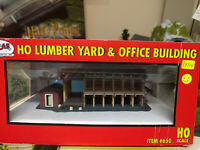 Atlas 650 Lumber Yard and Office Building HO gauge BNIB