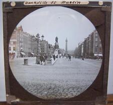 Magic Lantern Slide - Sackville Street Dublin