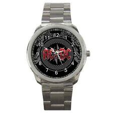AC DC AC/DC Australian Rock band #J01 Sport Metal Watch