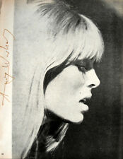 "Andy Warhol, ""NICO"" Hand signed print in Red pen 1966 w/Authenticity"