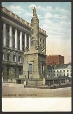 USA. Maryland. Baltimore. Battle Monument, Battle Monument Square. Unused PC
