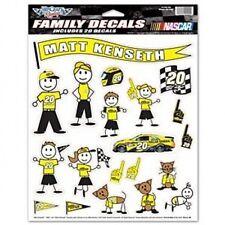 "WinCraft Racing Matt Kenseth #20 Dollar Gen Joe Gibbs Racing ""Family Decals"" NEW"