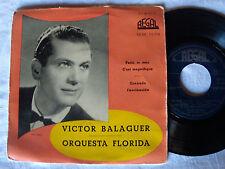VICTOR BALAGUER & ORQUESTA FLORIDA : Paris, te amo - 1957 EP SPANISH PRESSING
