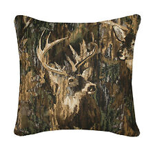 BROWNING WHITETAILS DECORATIVE BEDDING BUCK THROW PILLOW