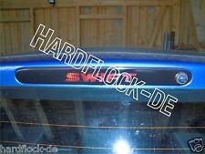 Bremslichtcover Suzuki Swift MZ EZ Sport 05-11 tuning Sticker Aufkleber
