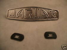 JAGUAR XK120 XK140 XK150 NEW CHROME HUB CAP MEDALLIONS X 4 (FREE UK POST)
