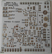 MMDVM all mode-Dstar, DMR, Yaesu Fusion modem for hotspot or repeater. PCB only.