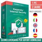 Kaspersky Internet Security 2021 - 1 Gerät - 2 Jahre - inkl. Antivirus <br/> kostenloser Support✔ DE-Händler✔ Anleitung✔ Rechnung✔