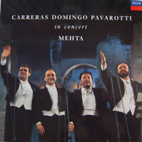 CARRERAS DOMINGO PAVAROTTI MEHTA ~ In Concert ~ CD Album GC ~ FREE POST!