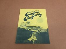 1973 73 Dodge Trailering Trailer Tow Towing cars trucks sales brochure