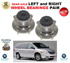 FOR CHRYSLER VOYAGER REAR BEARINGS 2000-> 2.4 2.5 2.8 3.3 WITH ABS SENSOR RING