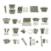 For BMW R1200GS R1200 GS/ADV ADVENTURE  STAINLESS STEEL FASTENER KIT 2003-07