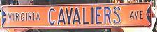 Virginia Cavaliers Ave Heavy Steel Street Sign - NCAA