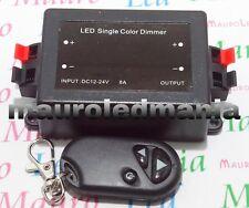 Contoller Telecomando Dimmer Led RF PWM duplicabile Programmabile 12V 24V 8A