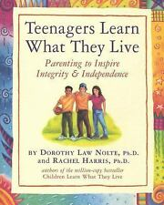 Teenagers Learn What They Live : Parenting to Inspire Integrity and Independence