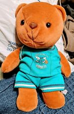1997 Nba Charlotte Hornets Stuffed Bear Dist by Play by Play Made in China