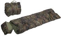 US Army Style Military Woodland Camo Mummy Surplus Camping Sleeping Bag New