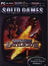 WARLORDS BATTLECRY 3 III  Brand New Sealed  PC Strategy Fantasy XP Vista Win 7