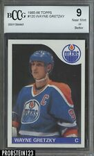 1985-86 Topps Hockey #120 Wayne Gretzky Oilers HOF BCCG 9 CENTERED
