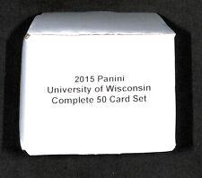 2015 Panini_University of Wisconsin Badgers_Complete 50 Card Set_J.J. Watt