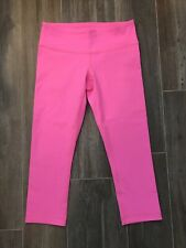 Lululemon Size 6 leggings Pink
