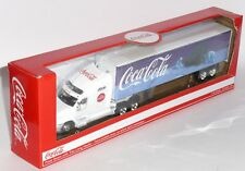 Official Coca Coca Lorry Truck Polar Bears & Trees Christmas Model Scale 1/64