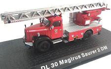 Firefighters Truck MAGIRUS SAURER 2 DM 1:72 Diecast Ixo Atlas