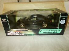 "AMERICAN MUSCLE RCERTL 1/18 The Fast & The Furious ""1995 HONDA CIVIC"" *Black"