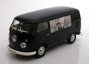 VW T1 BESTATTUNGSWAGEN CORBILLARD BLACK PREMIUM CLASSIXXS PCL30085 1/18