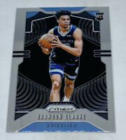 2019-20 Panini Prizm Basketball Brandon Clarke RC Base Card Grizzlies #266