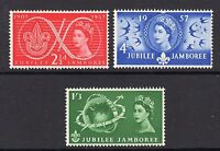 GB 1957 Commemorative Stamps~Scouts~Unmounted Mint Set~UK Seller