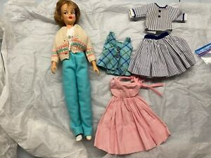 """Vintage Ideal Toy Corp 12"""" Tammy doll with clothing"""