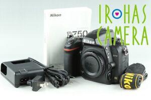 Nikon D750 Digital SLR Camera *Shutter count 19472* #23114 D5