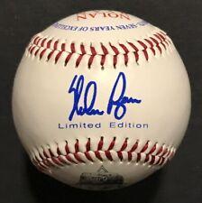 Nolan Ryan 1966-1993 Career Commemorative Baseball HOF Limited Edition Rangers