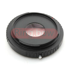Minolta MD To Canon EOS Infinity Lens Adapter 5D Mark II 7D 600D 70D With Glass
