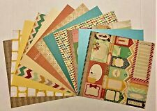"""12""""x12"""" SCRAPBOOK PAPER - 12 sheets   BIRTHDAY   *** FREE SHIPPING ***  HBD-02"""