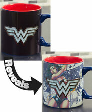 Licensed Heat Reveal Mugs - Wonder Woman