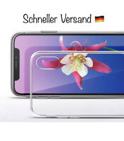 "iPhone Xs MAX 6,5"" Neu 2018 - Silikon Klarsichthülle - Gute Qualität - Premium"