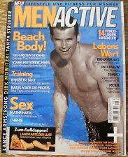 Men Active Zeitschrift Juli/August 2003 Lance Armstrong Dirk Nowitzki Fitness