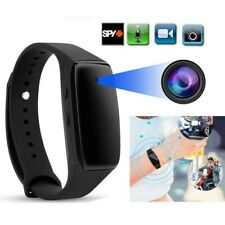 HD 1080P Bracelet Smart Watch Wristband mini Hidden Camera Video Recorder