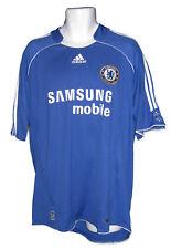 Chelsea FC Adidas Domicile Manche Courte Football Adultes Chemise 06-08 XL