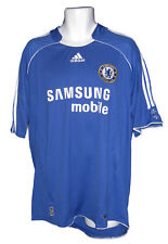 Vintage Adidas Chelsea Climacool Camiseta de Fútbol Home Azul XL